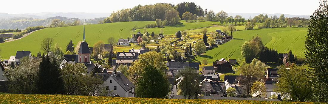 Lage Mauersberg